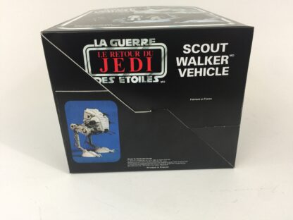 Replacement Vintage Star Wars Return Of The Jedi Bi-logo Scout Walker box and inserts