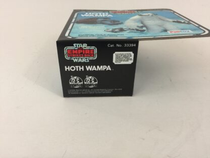 Replacement Vintage Star Wars Empire Strikes Back Hoth Wampa box and insert