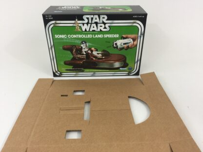 Replacement Vintage Star Wars Sonic Controlled Land Speeder box and insert