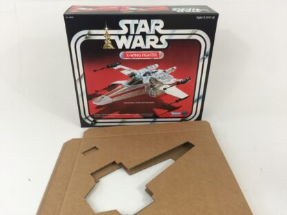 Replacement Vintage Star Wars 1st Edition X-wing box and insert