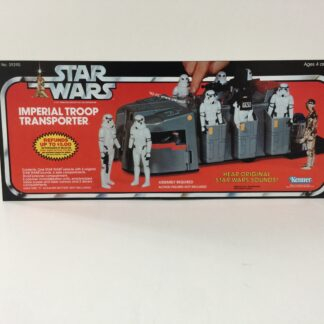 Vintage Star Wars Imperial Troop Transport box front only