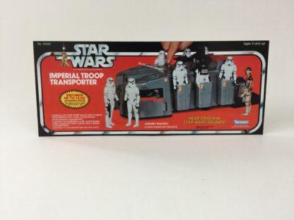 Vintage Star Wars Imperial Troop Transport box front only