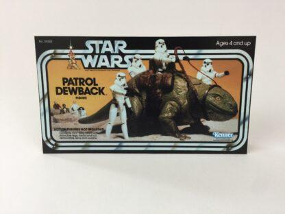 Vintage Star Wars Dewback box front only