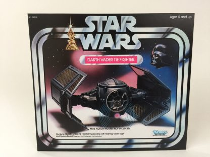 Vintage Star Wars Darth Vader Tie Fighter box front only