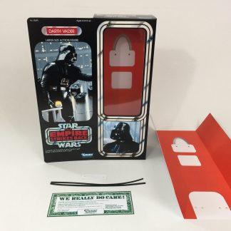 """Custom Vintage Star Wars Empire Strikes Back 12"""" Darth Vader box + insert"""