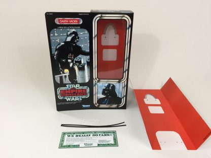 "Custom Vintage Star Wars Empire Strikes Back 12"" Darth Vader box + insert"
