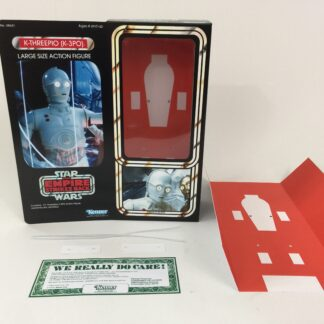 "Custom Vintage Star Wars Empire Strikes Back 12"" K-3PO box + insert"