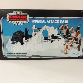 Vintage Star Wars Empire Strikes Back Imperial Attack Base box front only