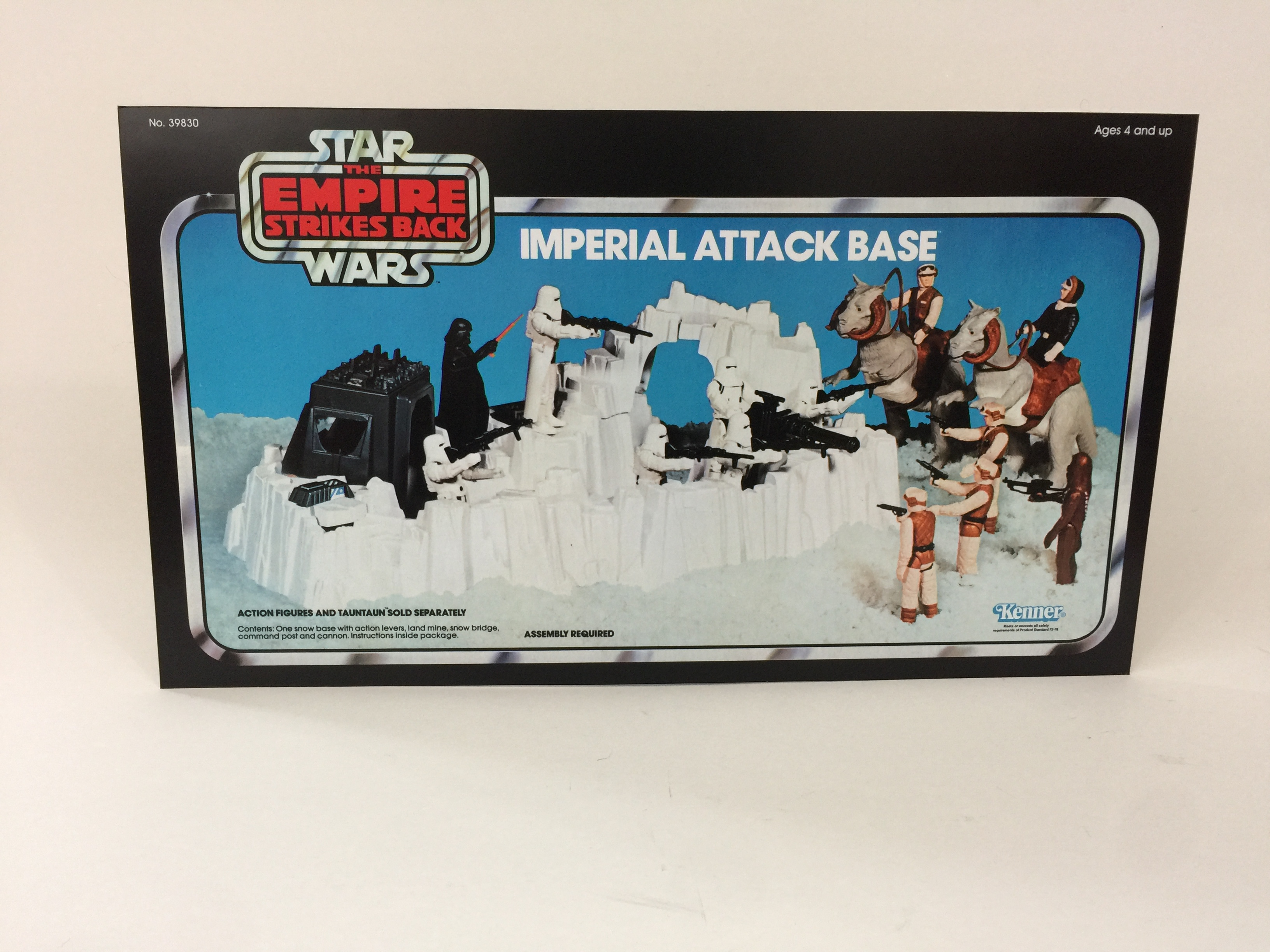 Vintage Star Wars Imperial Attack Base Blue Boxes Lot Part 1980 1 set Details about  /