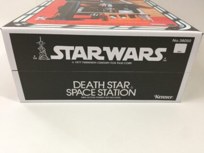 Replacement Vintage Star Wars kenner Death Star box and inserts