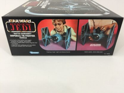 Replacement Vintage Star Wars Return Of The Jedi Kenner Battle Damaged Tie Fighter box and insert