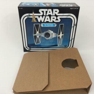 Replacement Vintage Star Wars Tie Fighter box and insert