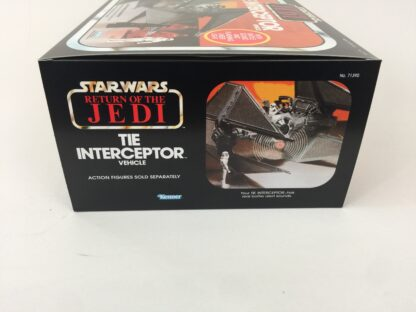 Replacement Vintage Star Wars Return Of The Jedi Tie Interceptor box and insert