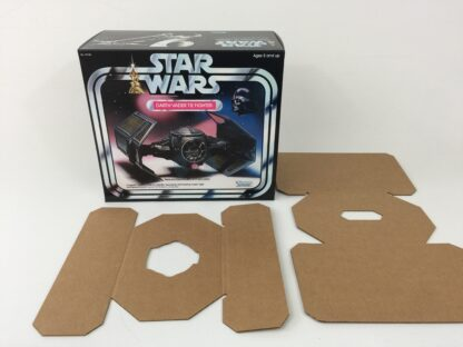 Replacement Vintage Star Wars Kenner Darth Vader Tie Fighter box and inserts
