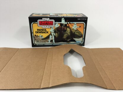 Replacement Vintage Star Wars Empire Strikes Back Canada Dewback box and inserts