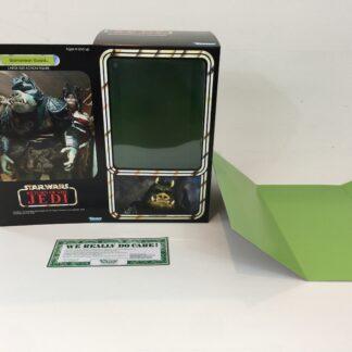 "Custom Vintage Star Wars The Return Of The Jedi 12"" Gamorrean Guard box and inserts"
