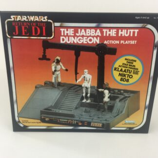 Replacement Vintage Star Wars The Return Of The Jedi Jabba Dungeon Playset red box