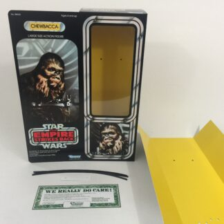 "Reproduction Vintage Star Wars The Empire Strikes Back 12"" Prototype Chewbacca box and inserts"