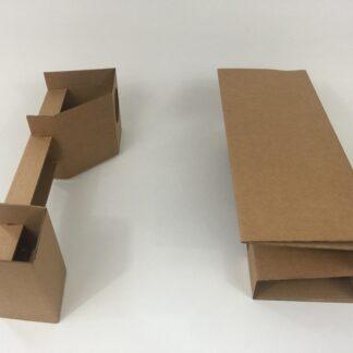 Replacement Vintage Star Wars Millennium Falcon box inserts