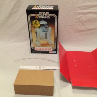 "Replacement Vintage Star Wars 12"" Palitoy Talking R2-D2 box and inserts"
