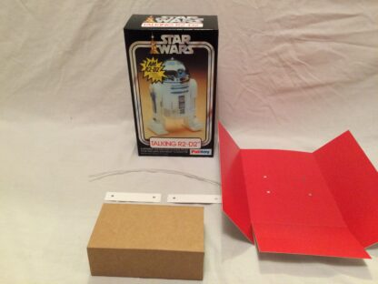 """Replacement Vintage Star Wars 12"""" Palitoy Talking R2-D2 box and inserts"""