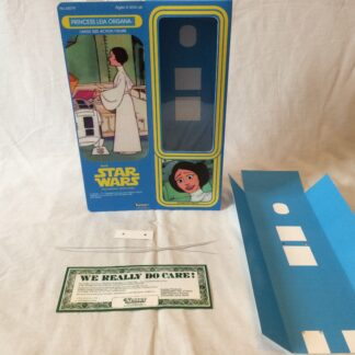 "Custom Vintage Star Wars The Holiday Special 12"" Princess Leia box and inserts"