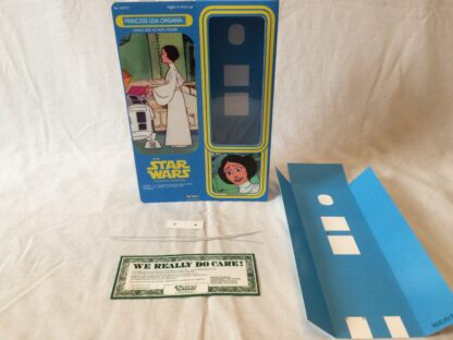 """Custom Vintage Star Wars The Holiday Special 12"""" Princess Leia box and inserts"""
