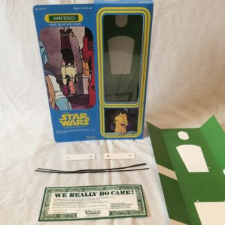 "Custom Vintage Star Wars The Holiday Special 12"" Han Solo box and inserts"