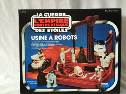 Replacement Vintage Star Wars The Empire Strikes Back Kenner Canada Droid Factory box