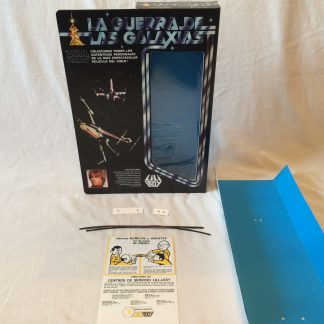 "Replacement Vintage Star Wars 12"" Lili Ledy Luke Skywalker box and inserts"