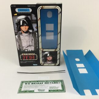 "Custom Vintage Star Wars The Return Of The Jedi 12"" AT-ST Scout Walker Driver box and inserts"