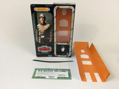 "Custom Vintage Star Wars The Empire Strikes Back 12"" Imperial Officer / Commander box and inserts"