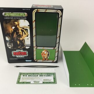 "Reproduction Vintage Star Wars The Empire Strikes Back 12"" Prototype C-3PO box and inserts"