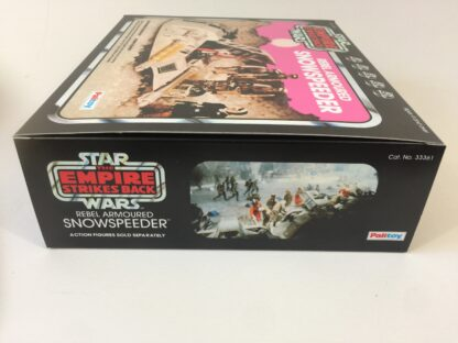 Replacement Vintage Star Wars Palitoy The Empire Strikes Back Snowspeeder pink box and inserts