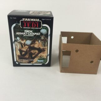 Replacement Vintage Star Wars Return Of The Jedi Ewoks Catapult box and inserts
