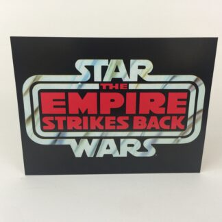 "Vintage Star Wars The Empire Strikes Back Large logo 16"" x 12"""