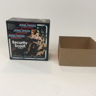 Replacement Vintage Star Wars The Power Of The Force Security Scout box and inserts