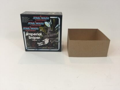 Replacement Vintage Star Wars The Power Of The Force Imperial Sniper box and inserts