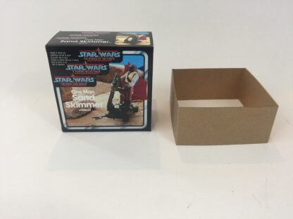 Replacement Vintage Star Wars The Power Of The Force One Man Sand Skimmer box and inserts