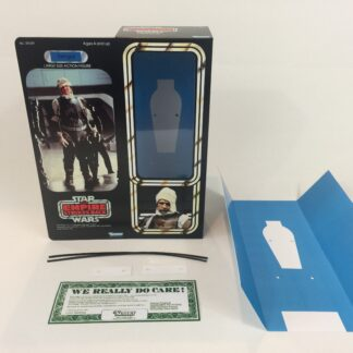 "Custom Vintage Star Wars The Empire Strikes Back 12"" Dengar Bounty Hunter box and inserts"