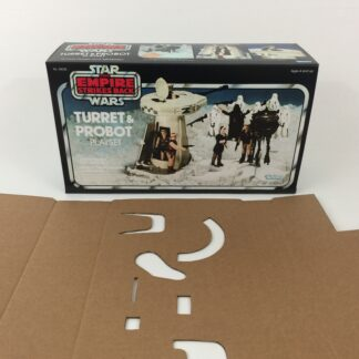 Replacement Vintage Star Wars The Empire Strikes Back Turret And Probot box and inserts