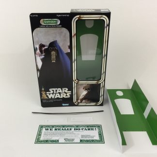 "Custom Vintage Star Wars 12"" Garindan box and inserts"