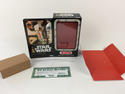 "Custom Vintage Star Wars 12"" R5-D4 box and inserts"
