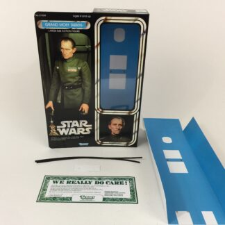 "Custom Vintage Star Wars 12"" Grand Moff Tarkin box and inserts"