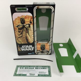 "Custom Vintage Star Wars 12"" Tusken Raider Sand People box and inserts"
