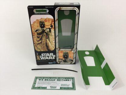 "Custom Vintage Star Wars 12"" Tusken Raider Sand People box and inserts"