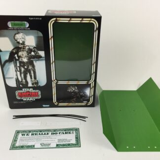 "Custom Vintage Star Wars The Empire Strikes Back 12"" Zuckuss Bounty Hunter box and inserts"