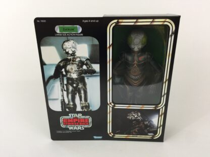"Custom Vintage Star Wars The Empire Strikes Back 12"" Zuckuss Bounty Hunter box and inserts"
