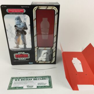 "Custom Vintage Star Wars The Empire Strikes Back 12"" Snowtrooper box and inserts"