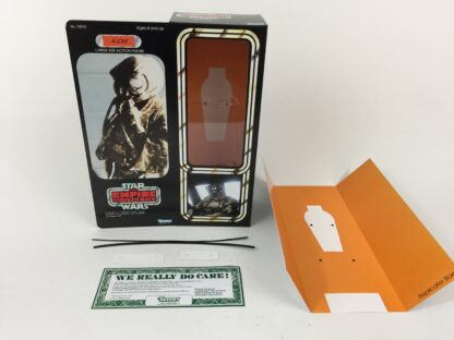"Custom Vintage Star Wars The Empire Strikes Back 12"" 4-Lom Bounty Hunter box and inserts"